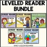 Leveled Readers Spring BUNDLE -3 Different Levels for K-2
