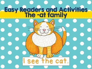 Easy Readers and -at Family Activities!