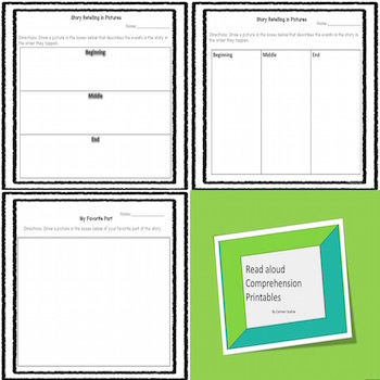 Easy Reading Book Printables