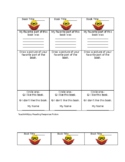 Easy Reading Response Bookmarks