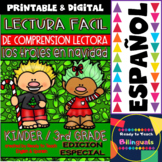 Easy Reading for Reading Comprehension in Spanish - Christmas Trolls