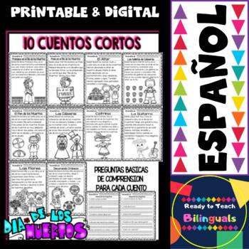 Easy Reading for Reading Comprehension in Spanish - Día de los Muertos