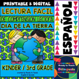 Easy Reading for Reading Comprehension in Spanish - Earth Day
