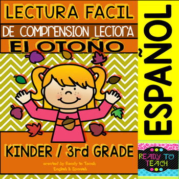 Easy Reading for Reading Comprehension in Spanish - Fall/Autumn