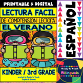 Easy Reading for Reading Comprehension in Spanish - Summer Set
