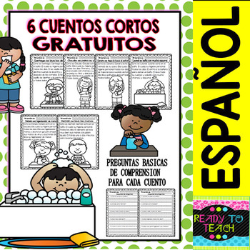 Easy Reading for Reading Comprehension in Spanish - spec. edit. - Hygine FREE