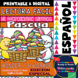 Easy Readings for Reading Comprehension in Spanish - Easter