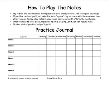 Free Easy Note Value Lesson - Preview