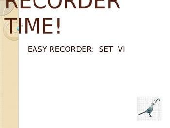 Easy Recorder Songs: Set 6
