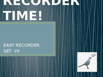 Easy Recorder Songs: Set 7
