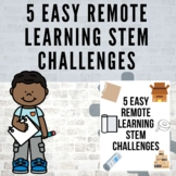 Easy Remote Learning STEM Challenges (Packet two)! l Dista