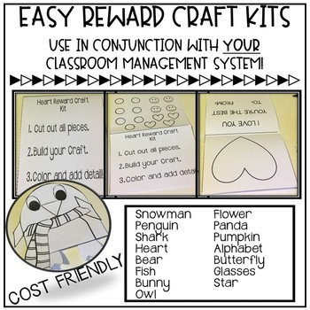 Easy Reward Craft Kits