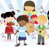 Easy Rhythm Classroom Instrument Songs for All Compilation Gen Ed and Music