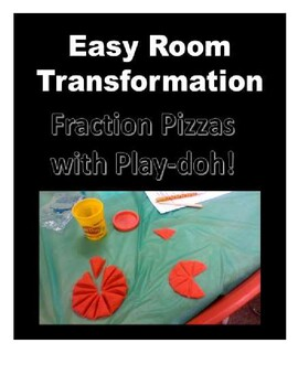 Easy Room Transformation - Pizza Fractions