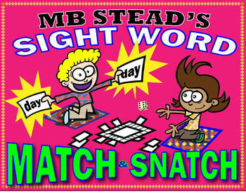 fun SIGHT WORD memory GAMES for 1st GRADE INTERACTIVE READ