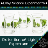 Science Experiments for Kids: Distortion of Light Experiment