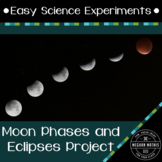 Science Experiments for Kids: Moon Phases and Eclipses Project