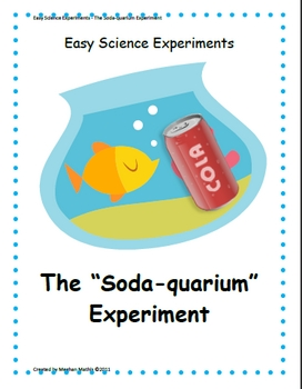 Easy Science Experiments:  Set Three - Scientific Method, Earth/Space, Geology