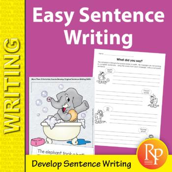 Easy Setence Writing