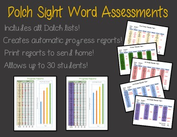 Automated Sight Word Assessment!