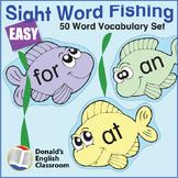 Easy Sight Word Fishing