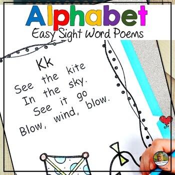 Poems with Sight Words for Kindergarten