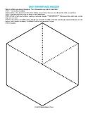 Easy Snowflake Makers - Geometry Decorations Seasonal Origami Activity