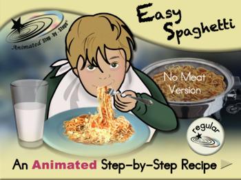 Easy Spaghetti - Animated Step-by-Step Recipe