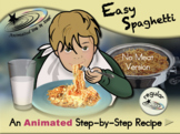 Easy Spaghetti - Animated Step-by-Step Recipe - Regular
