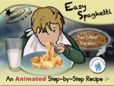 Easy Spaghetti - Animated Step-by-Step Recipe SymbolStix