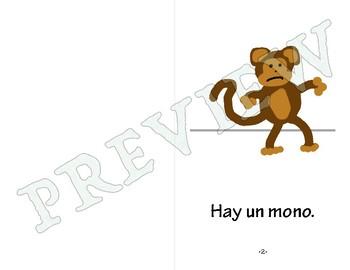 Easy Spanish Reader - El mono quiere comer