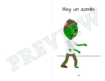 Easy Spanish Reader - El zombi feo