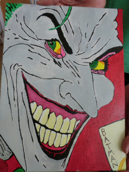"""PROFESSIONAL RESULTS! Step by Step Acrylic Painting! """"POP ART EXTREME EMOTION"""""""