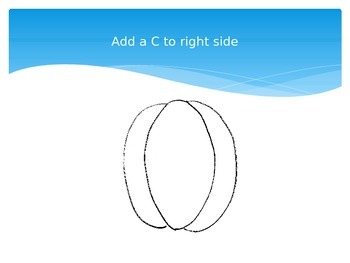 Easy Step by Step Pumpkin Drawing PowerPoint