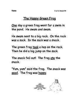 Easy Stories for Beginner Readers