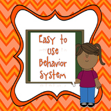 Beginning of the Year: Easy Student Behavior Tracking System