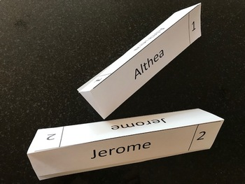 Easy Student Name Tags using Word's Mail Merge