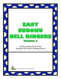 Easy Sudoku Bell Ringers - 20 Easy Puzzles To Stimulate Critical Thinking Vol. 2