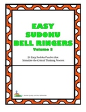 Easy Sudoku Bell Ringers 20 Easy Puzzles To Stimulate Critical Thinking Vol 3