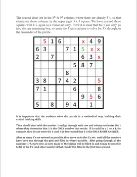 Easy Sudoku Bell Ringers -Vol.3  20 Easy Puzzles To Stimulate Critical Thinking