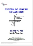 Easy System of Linear Equations
