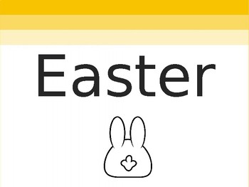 Easy TEFL / TESOL Easter PPT (Including Easter Egg Hunt)
