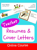 Easy Teacher Resumes and Cover Letters