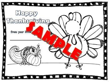 Easy Thanksgiving Photo Craft