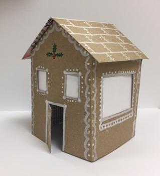 Easy Tiny Ginger Bread Houses