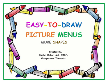 Easy-To-Draw Picture Menu: More Shapes