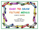 Easy-To-Draw Picture Menu: Simple Shapes