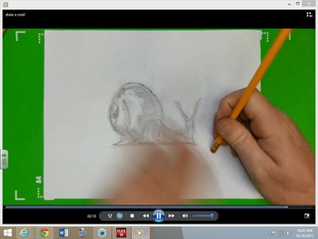 Easy To Draw Snail Draw A Snail
