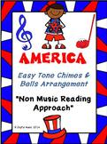 FREE Easy Tone Chimes & Bells Arrangement AMERICA