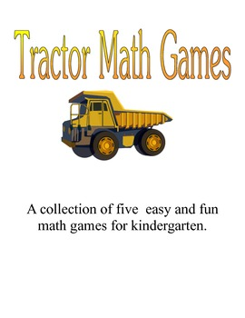 Easy Tractor Math Games